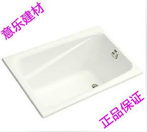 科勒 正品 科勒 迪素1.2米亚克力浴缸(只提供白色) K-1490T-0