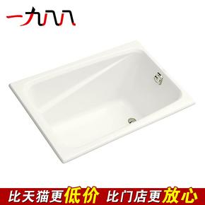 科勒浴缸 K-1490T-0 迪素1.2米亚克力浴缸(只提供白色) 特价