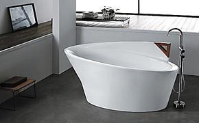 浴缸 亚克力 新款浴缸双人普通浴缸独立式亚克力/压克力1米7
