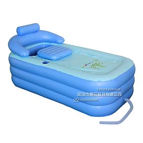 盈泰YT-038家用加厚充气浴缸 充气水池 成人浴池 送修补包