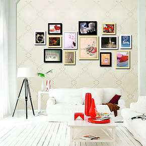 13框  时尚创意相框墙  非主流相片墙  结婚季团照片墙  送配件