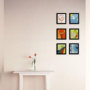 秒杀非主流迷你画组合相片墙相框墙照片墙儿童房转角走廊楼道新品