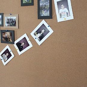 凡菲 照片墙贴 软木贴板 带胶贴纸 相片墙 留言板 公司文化宣传栏