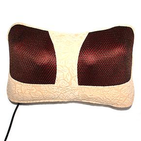 厂家直销健力士按摩器材 家用颈椎 颈腰靠垫 背部 腿部车载按摩枕
