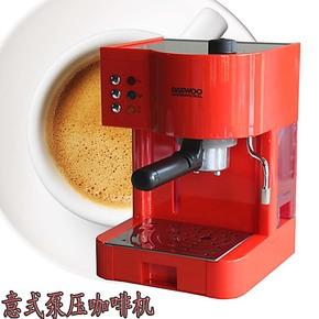 包邮 泵压式 意式半自动咖啡机蒸汽奶泡咖啡机秒杀3A