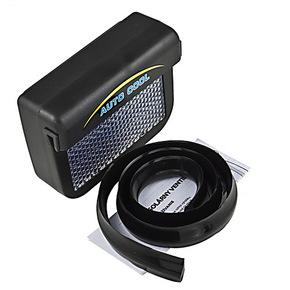 太阳能汽车空调通风系统 降温器 汽车排风扇 换气 汽车用品小套饰