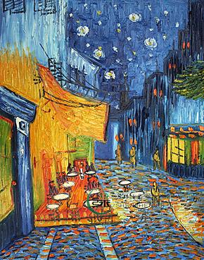 油画 名画纯家庭装饰画挂画壁画临凡高高档无框独立风景手绘画咖