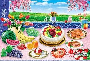水果西餐画现代家居装饰画餐厅艺术画壁画挂画无框画墙画纸画915