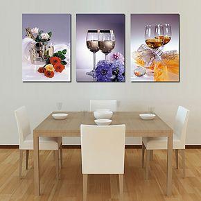 无框画餐厅装饰画 家居家饰装饰画 壁画餐厅墙画版画酒店挂画