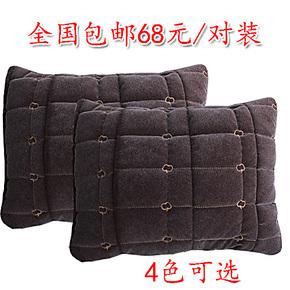 新款秋冬季保暖羽绒头枕腰靠汽车配套抱枕垫靠垫通用颈枕靠枕包邮