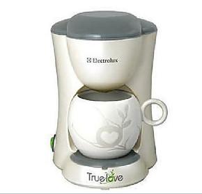 专柜正品/4钻信誉/伊莱克斯 EGCM050单杯咖啡机/滴漏式咖啡机