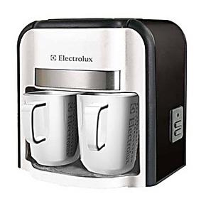 正品 新款 伊莱克斯双杯咖啡机EGCM010 伊莱克斯 咖啡机 双杯