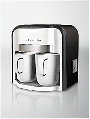 Electrolux伊莱克斯咖啡机EGCM010 双杯咖啡机 正品包邮