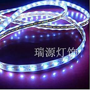 LED绿色节能环保灯带 客厅橱柜衣柜防尘防潮中网灯 300灯 12V电源