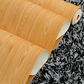尘埃坊壁纸 家装中式PVC发泡木纹 书房 客厅背景墙 卧室 家具橱柜