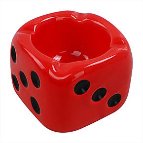 正品 烟灰缸 创意时尚欧式 陶瓷烟灰缸 个性烟灰缸 骰子大烟缸