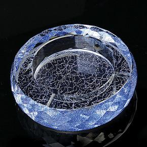 正品创意水晶烟灰缸 欧式特大号时尚烟缸 家居摆件 批发定制包邮