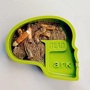 无趣工社 DEAD PARK创意烟灰缸 超酷惊悚骷髅 实用环保戒烟烟缸