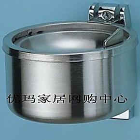 ㊣精品特卖●剑雅挂件/迪玛卫浴●150-304不锈钢挂墙式烟灰缸☆
