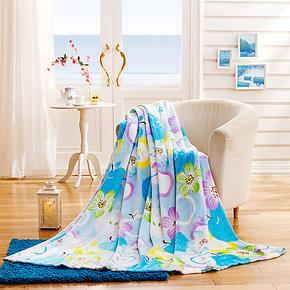 盛宇家纺 秋季新品 毛毯空调毯金纺绒毯春秋 懒人毯 居家必备