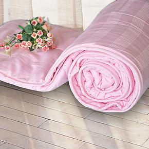 际华家纺  全棉舒适蚕丝榨蚕丝木棉纤维春秋薄被被芯被子床上用品