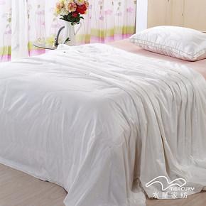 水星家纺负离子生态蚕丝被芯 100%桑蚕丝春秋被空调被子 床上用品