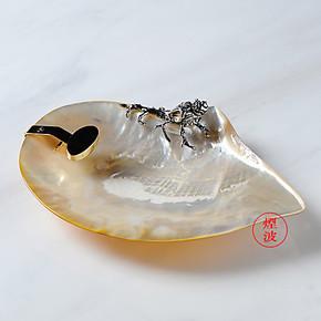 Connoisseur Collection  纯银 海螺 雪 茄 烟灰缸