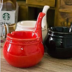 烟灰缸批发 烟斗烟灰缸 灭烟缸 创意个性礼品烟灰缸 陶瓷烟灰缸