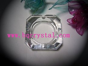 水晶烟灰缸,厂家直销,小型烟灰缸,物廉价美