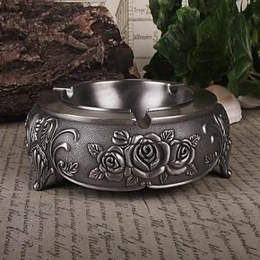 俄罗斯烟灰缸 锡银合金 烟缸 生日 节日送礼自用 创意时尚礼物