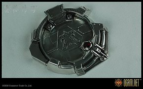 奥格瑞玛 暴雪星际争霸2 纯金属锡合金星际人族烟灰缸 现货看说明