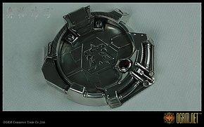 奥格瑞玛 星际争霸2 星际人族烟灰缸 烟灰缸 纯金属 纯锡精工版