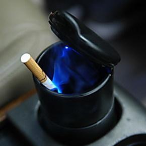 13款新帝豪EC7 新爱丽舍 新奇瑞QQ 新雅阁 德基带灯汽车饰烟灰缸