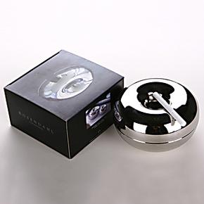 丹麦银苹果烟灰缸防风不锈钢烟灰缸摆件 男人礼物 特价