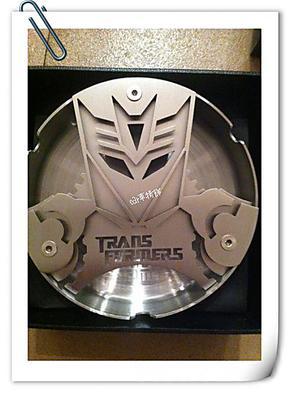 超质感 变形金刚 狂派 激光切割 不锈钢 工艺烟灰缸