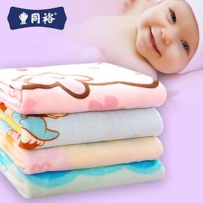 拉舍尔儿童保暖绒毯毛毯冬加厚双层儿童小毛毯子婴儿云毯儿童毛毯