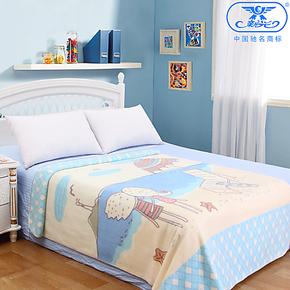 新光云毯  卡通学生儿童拉舍尔双层毛毯  空调休闲毯加厚特价包邮