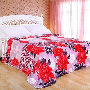 新光 拉舍尔毛毯 单层 床单毯 绒毯子 夏季特价 薄毯 特价销售