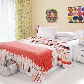 厂家直销法莱绒毛毯单双人毯 超柔加厚珊瑚绒升级绒毯午睡毯床单