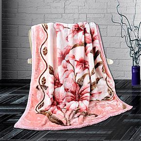 【试用中心官方推荐】上海凤凰毛毯老字号7斤双层纬编亚克力毯