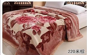 红豆亚克力毛毯 超柔毛毯3kg 170*210 超漂亮实体店批发