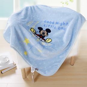 维科兴洋拉舍尔迪士尼卡通儿童小毛毯子 午睡毯 婴儿盖毯特价包邮
