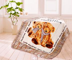 天天特价维科兴洋家纺加厚超细纤维高雅光泽儿童毛毯 迪士尼授权