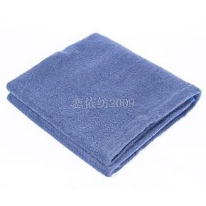 正品海毛毯水波纹蓝色保暖纯毛毛毯 7斤加厚纯羊毛毛毯