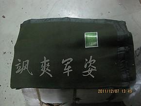 草绿色正品包边纯毛毛毯 2000克毛毯