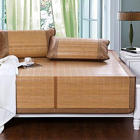 柏丝羽 炭化凉席 双面折叠竹席单双人镜面竹凉席子1.2/1.5/1.8米