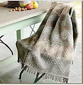 罗莱 Q560意大利几何韵律提花羊毛毯 进口羊驼毛