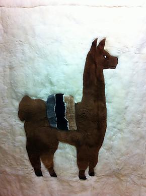 包邮 超厚 羊驼 毛毯 100%纯羊驼毛毛毯 神兽