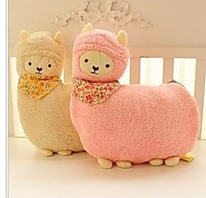 可爱~日本养生堂羊驼空调毯 珊瑚绒毯羊驼毛毯