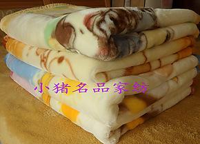特价红豆拉舍尔新生儿童双层毛毯婴儿宝宝童毯毯子午休幼儿园盖毯